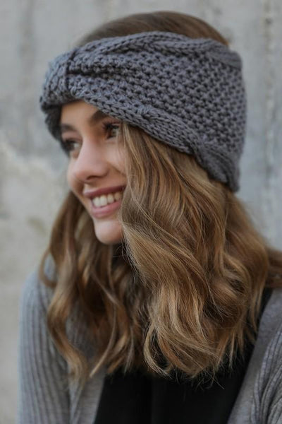 Cozy Knit Headwrap - NIKNIK'S BOUTIQUE