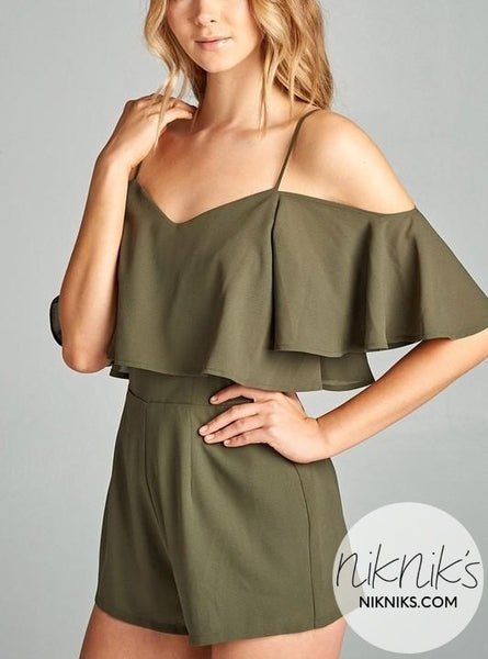 Cute Green Romper