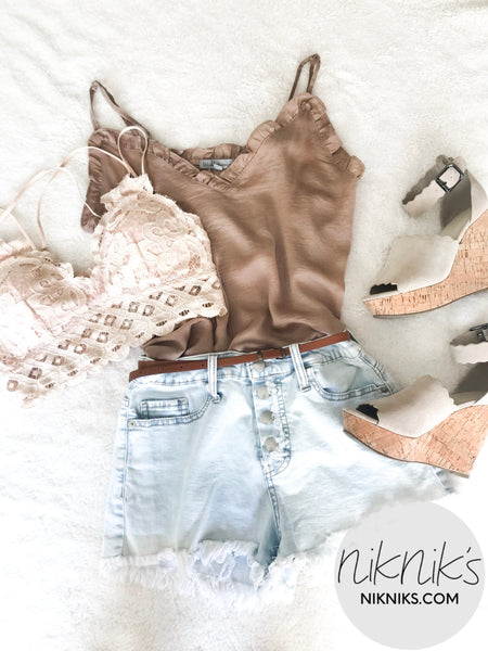 cute casual cami top