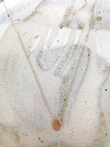 Small Gold Pendant Necklace - NIKNIK'S BOUTIQUE