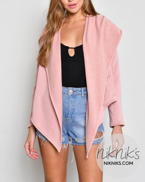 pink athletic jacket