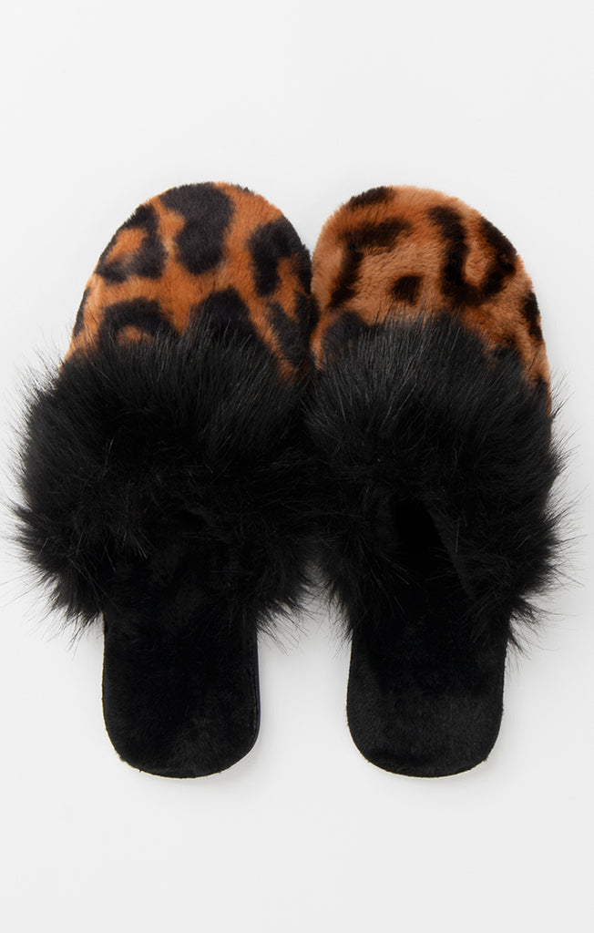 Felix Slippers – Leopard-Slippers-Mermaid Cove