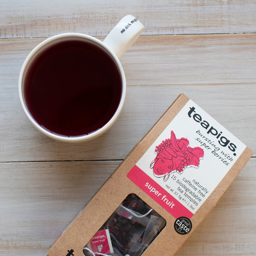 Teapigs super fruit tea (Vegan)-tea-Mermaid Cove