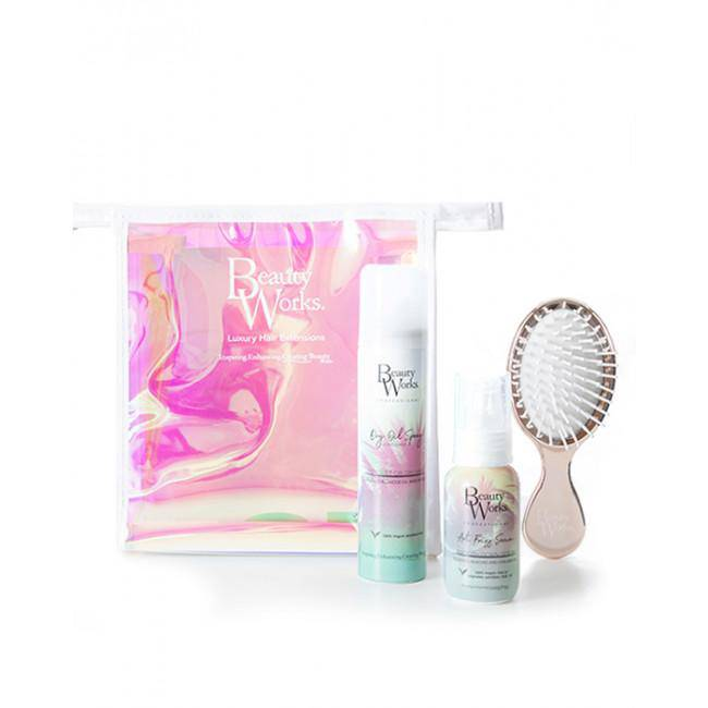 Beauty Works Dry Oil x Anti Frizz Serum Travel Set (Vegan)-Hair Care-Mermaid Cove