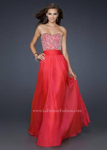 WILLOW ( La Femme 17498 )-Dresses-Mermaid Cove