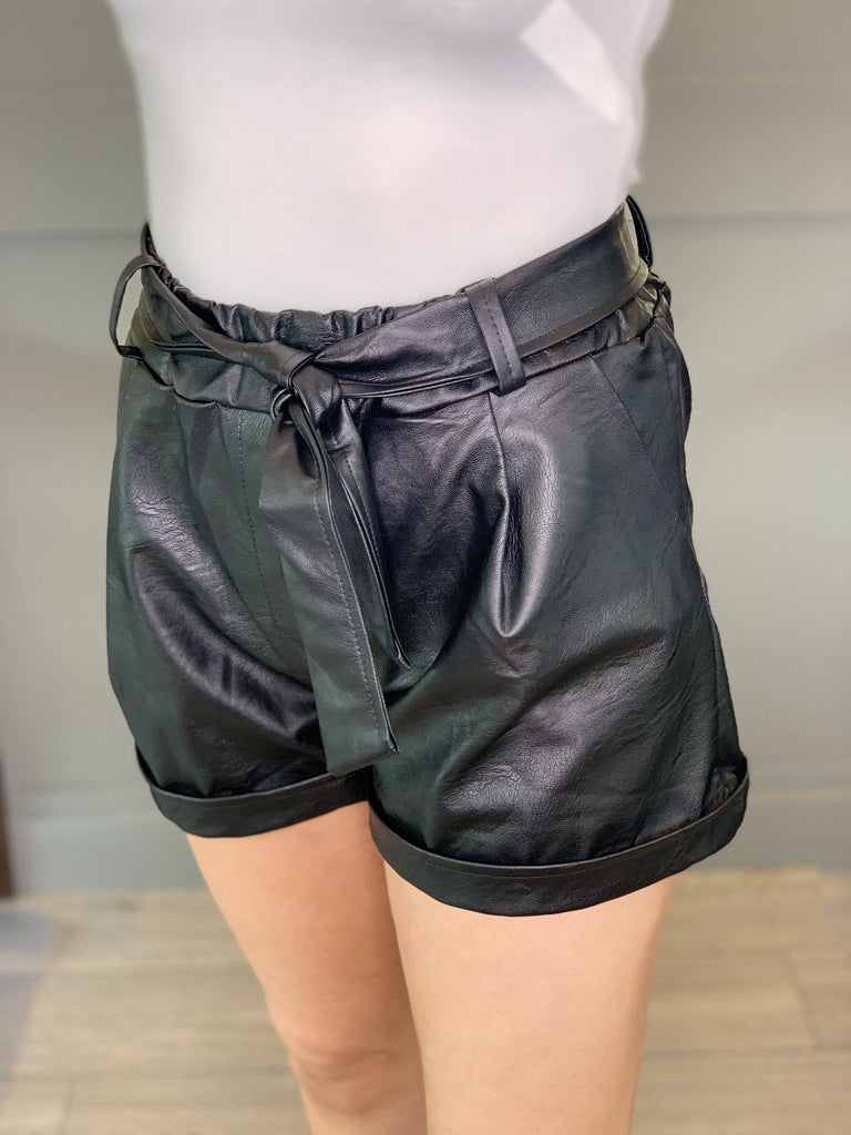 EMILY (BLACK)-SHORTS-Mermaid Cove