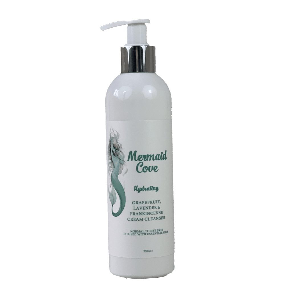 Hydrating Cleansing Cream (grapefruit, lavender, frankincense)-skincare-Mermaid Cove