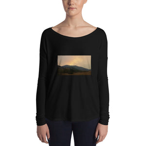 Montana Collection: The Alice Creek Fire Women's Long Sleeve Fashion T-Shirt
