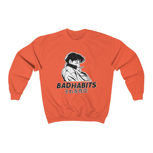 Bad Habits® Anime Aesthetic Crewneck Sweatshirt