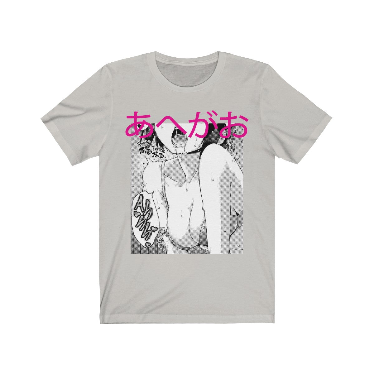 Tremble® Ahegao Face Anime Unisex Jersey Tee