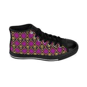 Jojo's Bizarre Adventure Anime Shoes, Hi Tops, JJBA anime, Killer Queen Shoes High-top Sneakers