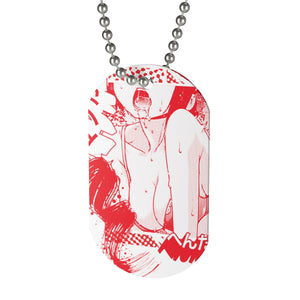 Tremble – Ahegao – Dog Tag
