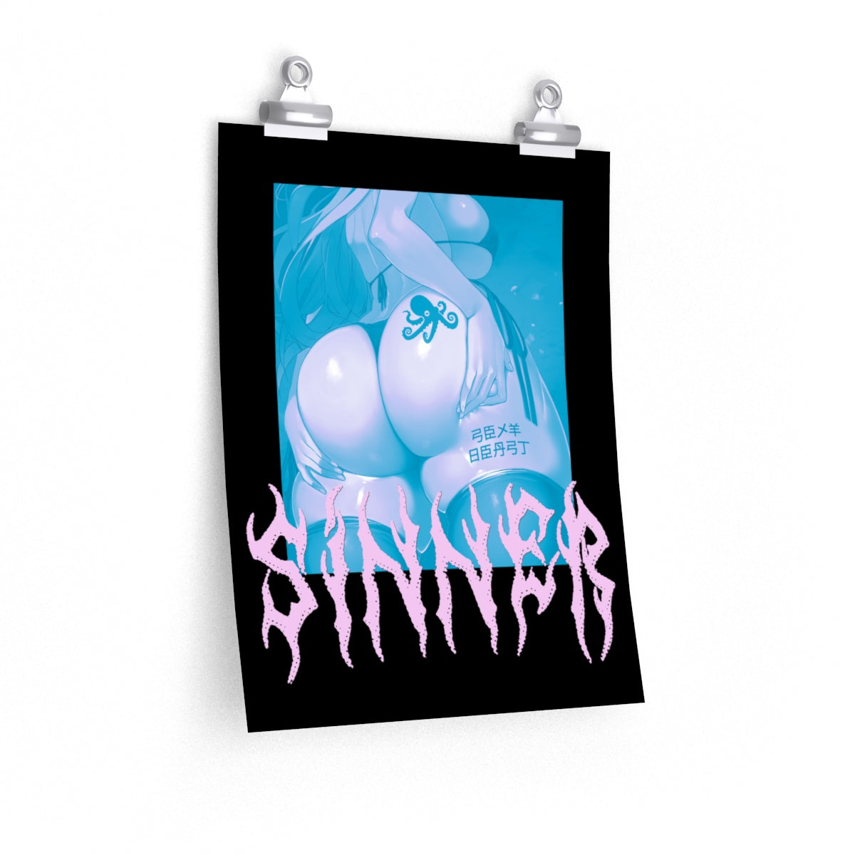 Sinners & Grinners – Posters