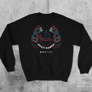 Spicy Ramen Destiny Short-Sleeve Sweatshirt / Sweater / Jumper