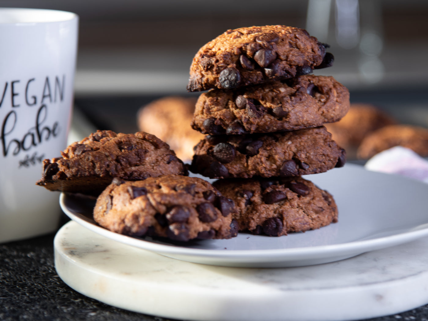 Chocolate Chip Cookies - Vegan & Gluten-Free