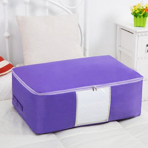 Washable Portable Storage Container  Lovely Print Oxford Clothes Quilts Storage Bags Folding Organizer