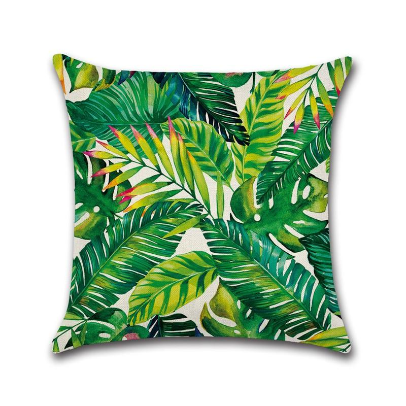 Tropical Rain Forest Theme Pillow  Case Car Home Sofa Bed Decor