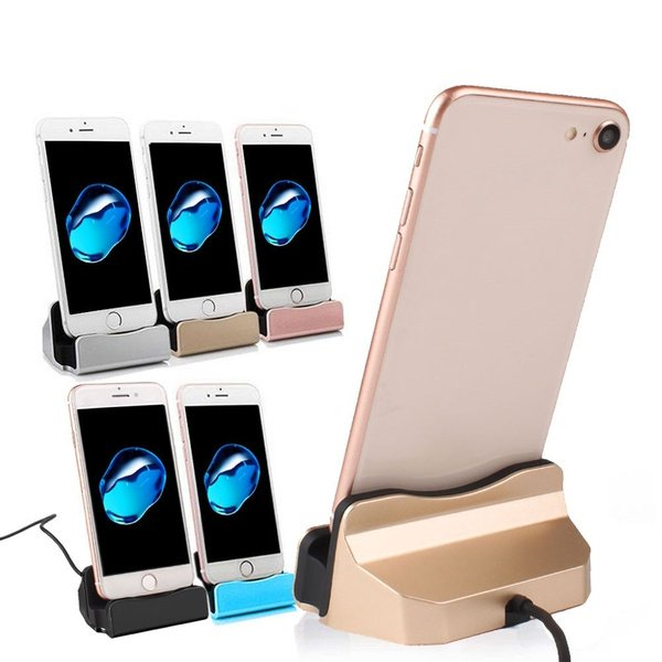 USB Charger Charging Dock Cradle Stand Station For iPhone Android Type C