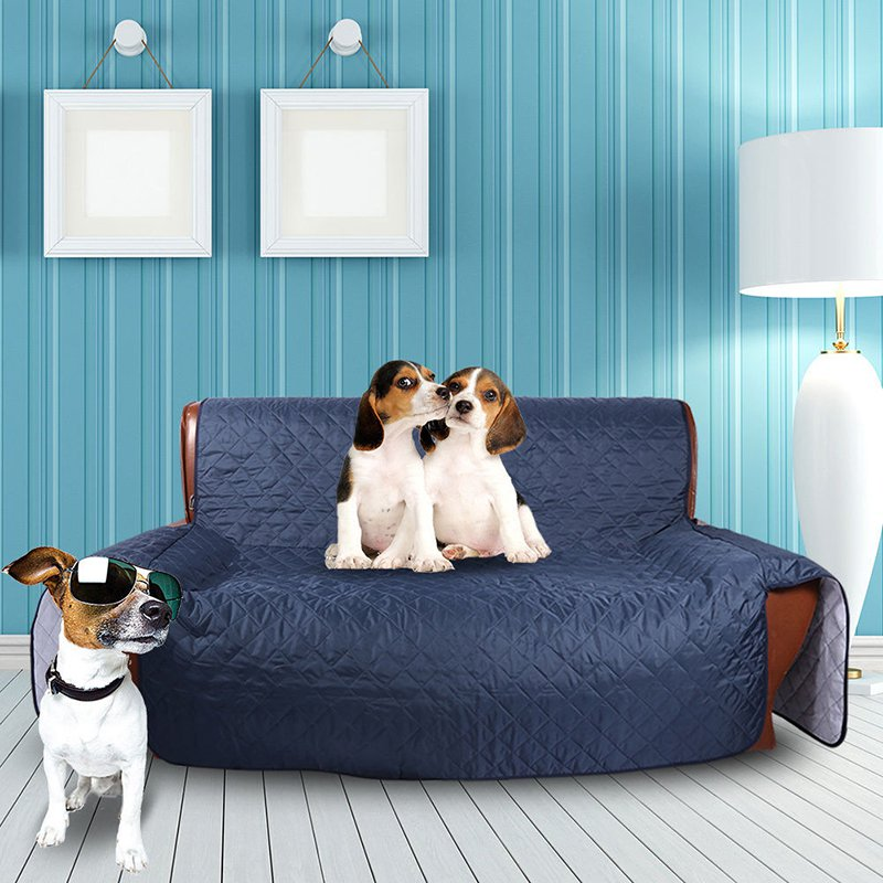 Pet Dog Kids Mat Furniture Protector Reversible Washable Removable Armrest Slipcovers 1/2/3 Seat