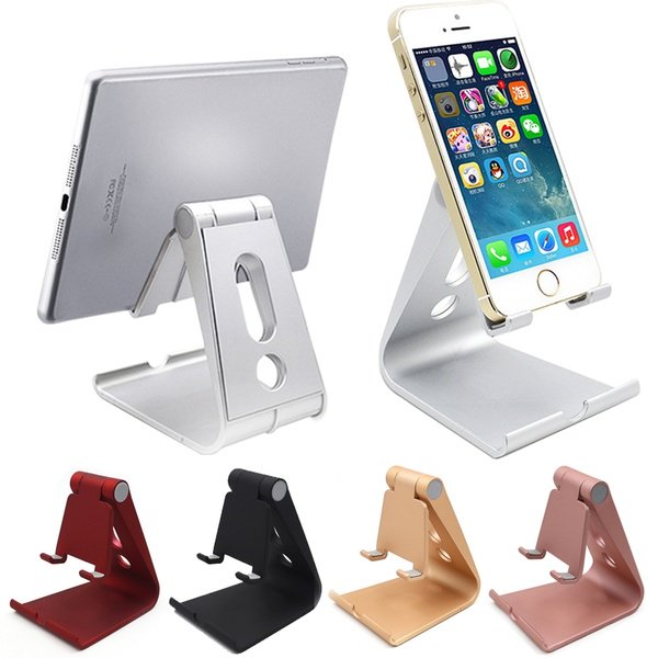 Universal Cell Phone Holder Desktop Mount Non-slip Mobile Phone Stand for iPhone iPad Tablet