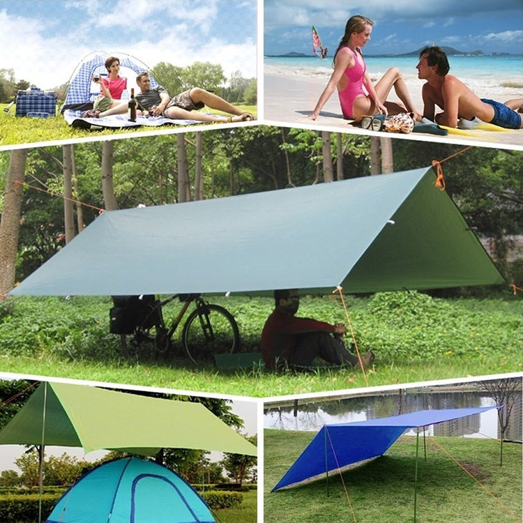 Rain Tarp Shelter Sun Sunshade Awning Canopy Beach Camping Waterproof Tent Cover
