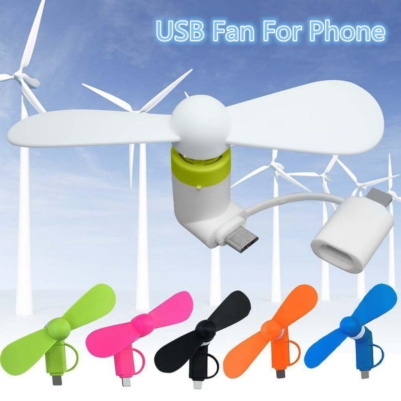 Portable Super Mini USB Cooler Cooling Mini Fan For iPhone Android