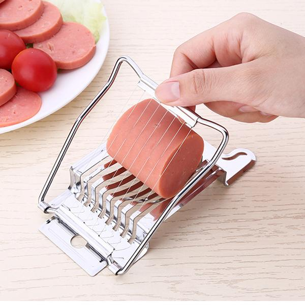 Stainless Steel Egg Cutter Egg Tool Tomato Slicer Strawberry Slicer