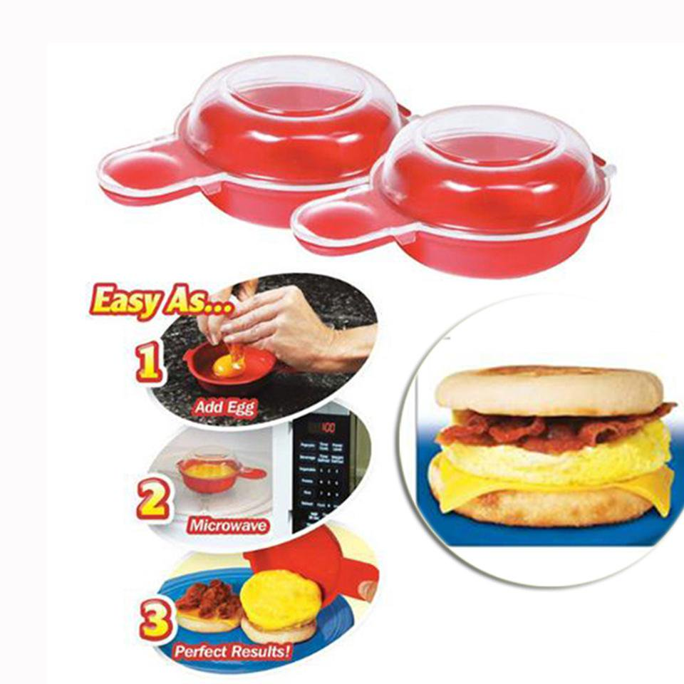 2Pcs Easy Eggwich Cooking Tool