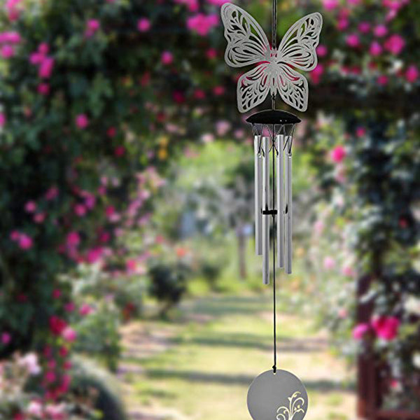 Flourish Metal Wind Chime for Outdoor, Patio, Garden, Indoor Decor
