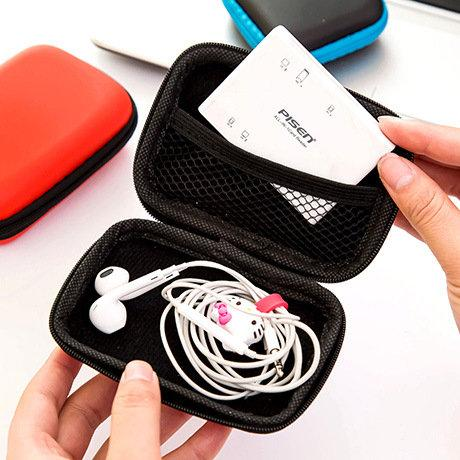 Earphone ipod Airphone Storage Case Protector Organizer Box
