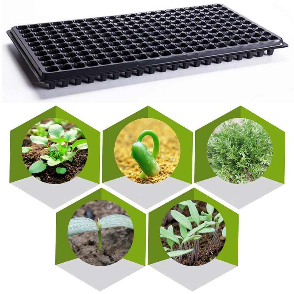 200 Cells Seedling Starter Trays for Seed Germination Plant Propagation