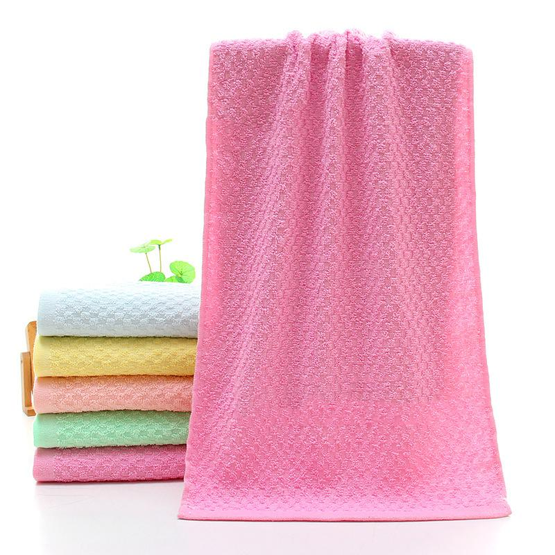 72x31cm Absorbent Cotton Jacquard Weave Towel For Home Camping Travelling