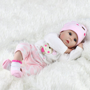Maternal and Child Toy Simulated Newborn Baby Doll Gift Doll Handmade