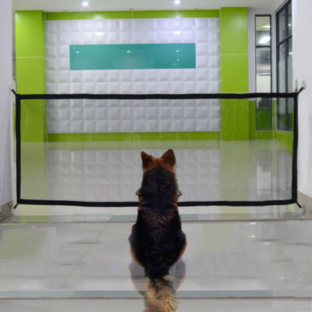 Portable Folding Magic Safety Gate Guard Mesh Fence Net for Pets Dog Puppy Cat