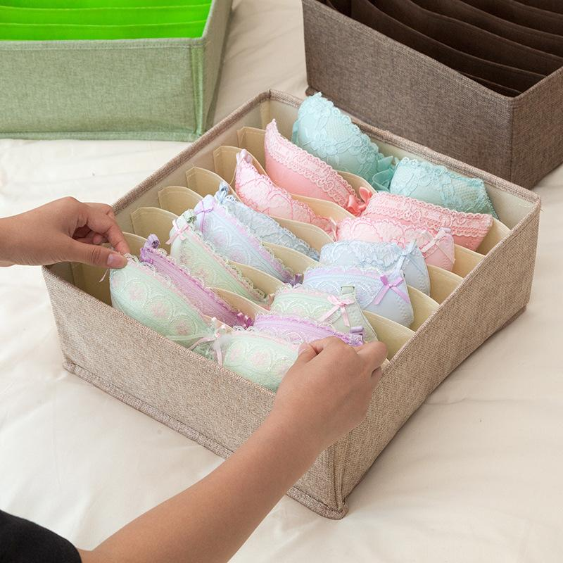 Foldable Socks Bras Underwear Organizer Box