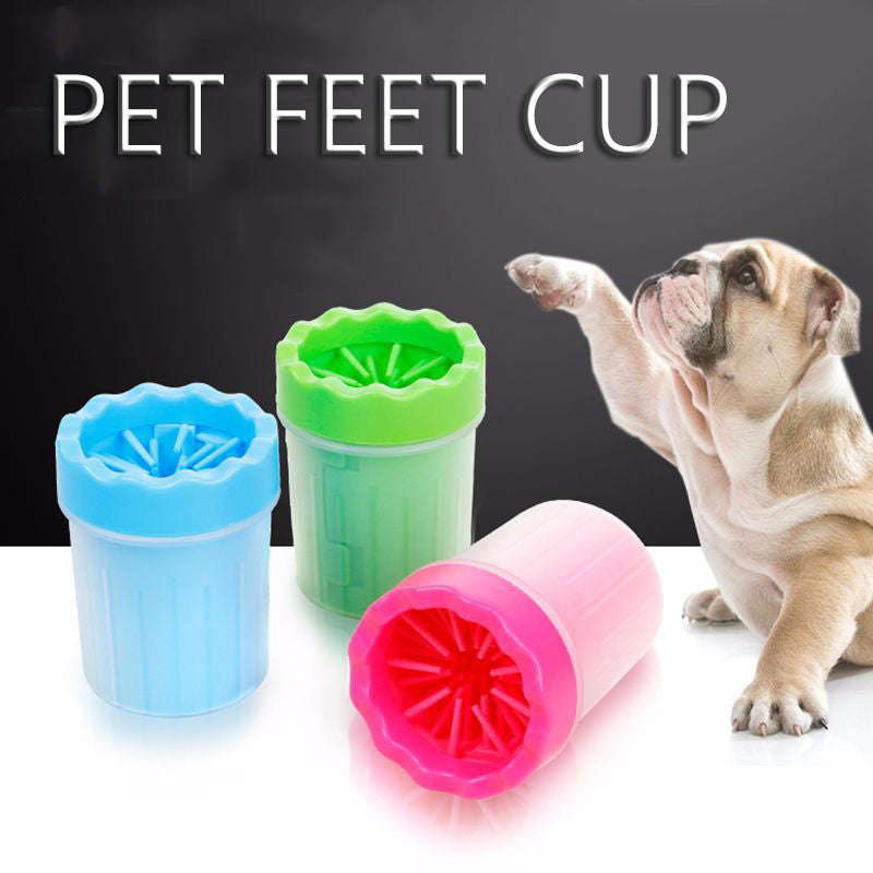 Foot Wash Cup Dog Foot Washing Device Pet Dog Foot Care Pet Foot Washing Machine