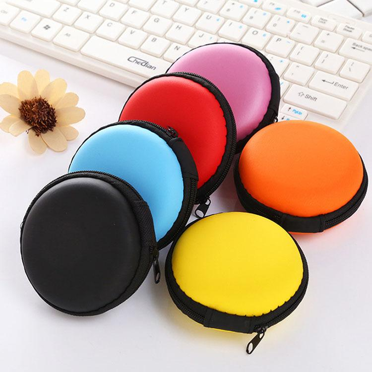 Headphone Cable Earphone Charger Data Cable Box  Storage Bag