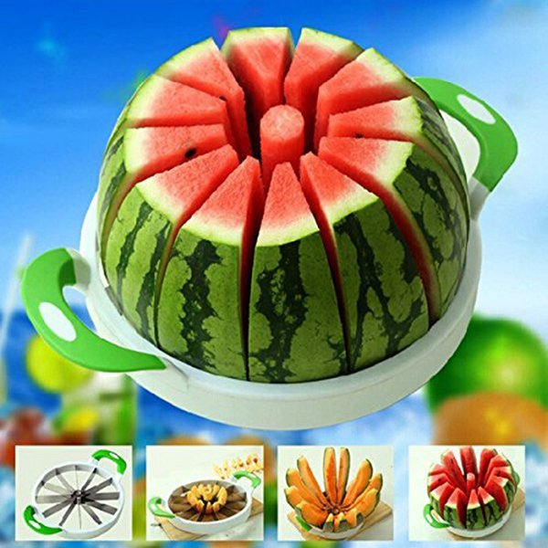 Watermelon Slicer Stainless Steel Fruit Melon Corer  for Home Kitchen