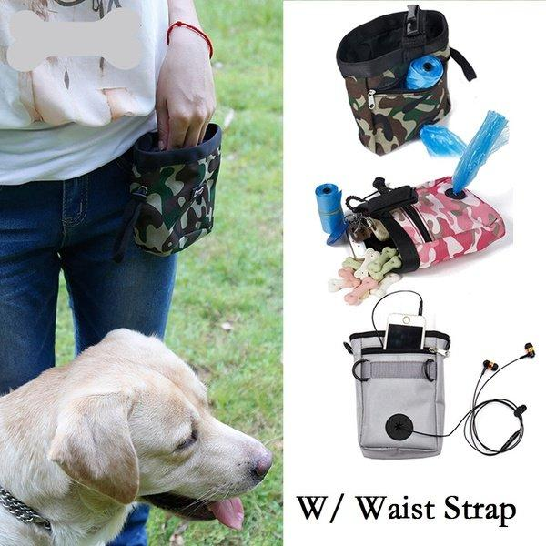 Durable Pet Dog Puppy Training Pouch Walking Treat Snack Bag Dispenser