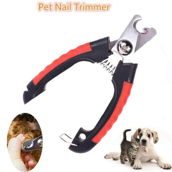 Professional Pet Dog Cat Nail Cutter Nail Clipper Animal Nail Scissor
