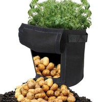 Felt Potato Grow Bag Garden  Plant Bags Peanuts Grow Bags