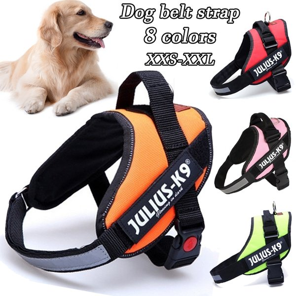 Dog Outdoor Walking Traction Vest Pet Chest Strap For Medium And Large Dogs