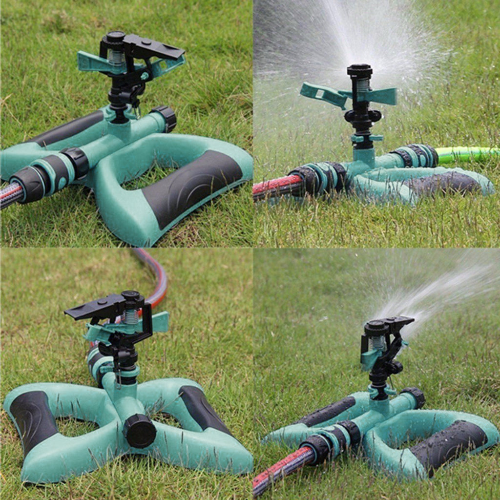 Watering & Irrigation Garden Sprinklers 360 Degree All-around Water Sprinkler Rotary Watering Tools Gardening Nozzle