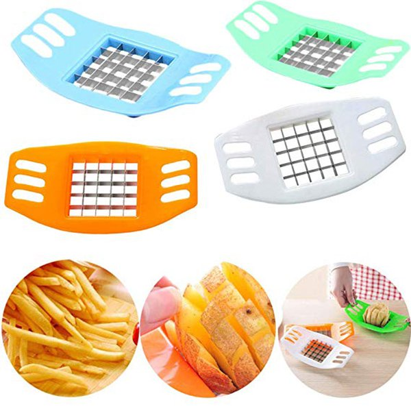 New Stainless Steel Potato Cutting Device Square Slicers Cut Fries Device
