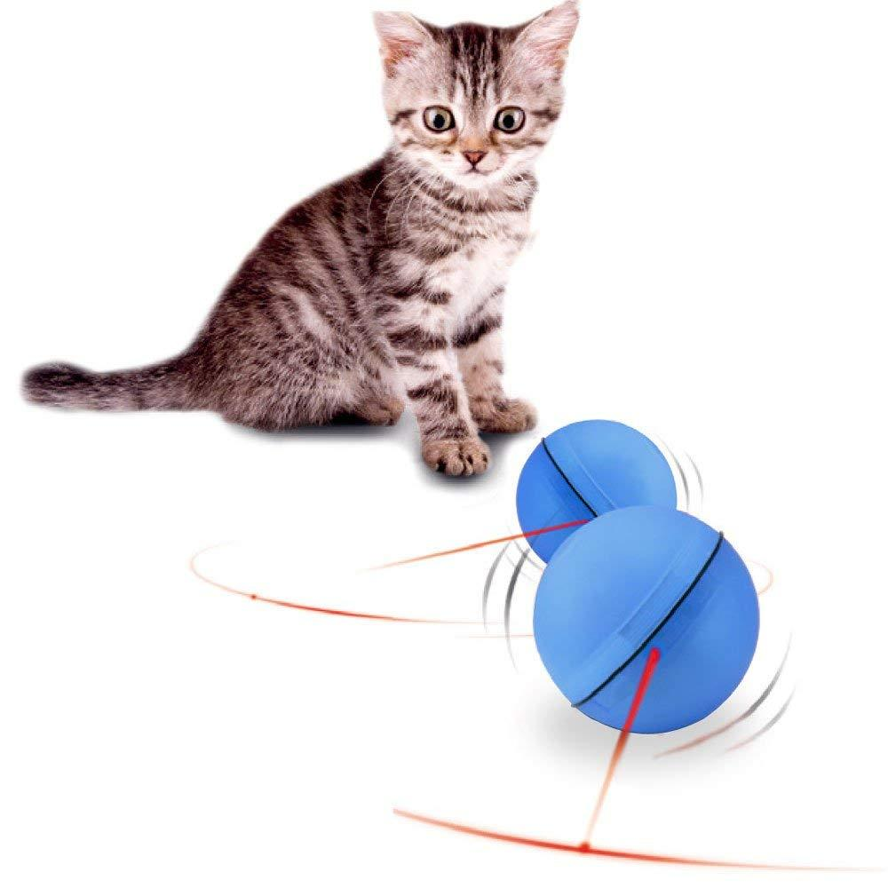 Three Color LED Pet Toy Interactive Flash Ball