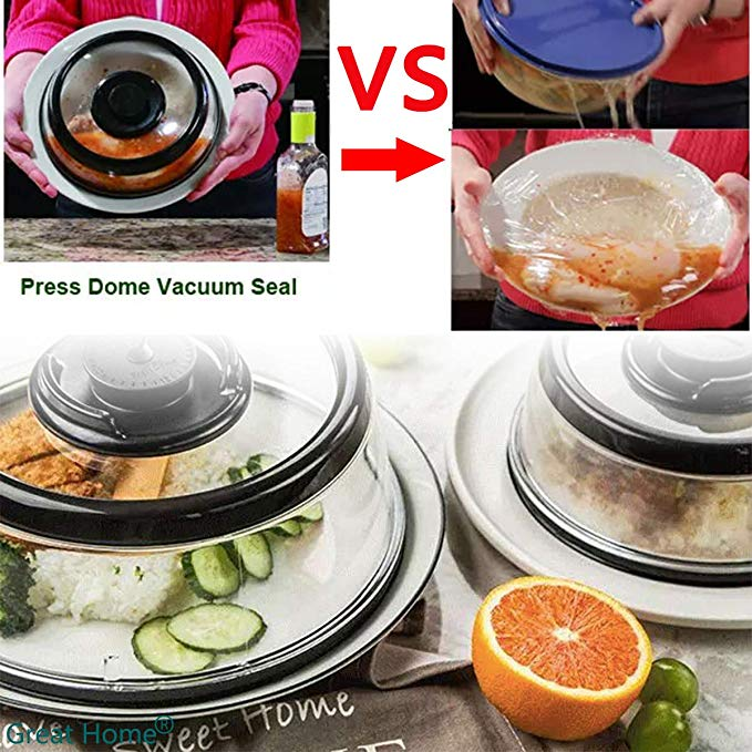 Top Vacuum Food Sealer  Cover Kitchen Instant Vacuum Food Sealer Fresh Cover