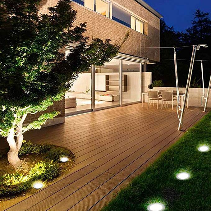 Solar Path Lights, Solar Powered LED Landscape Lighting