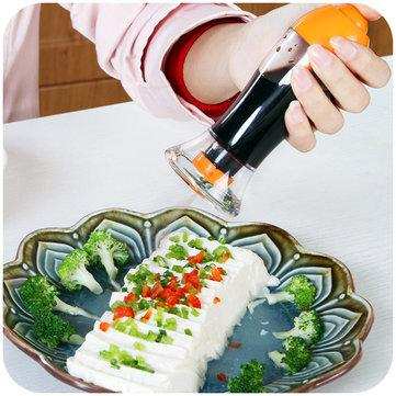 Spray Pump Barbecue Oil Sprayer Spraying Oil Bottle Sauce Vinegar Cruet Kitchen Cooking Tools