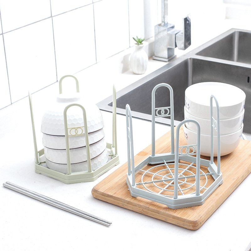 Layer Kitchen Drain Shelf Sink Draining Rack Tray Dish Bowl Storage Holder Drainer Kitchen Flatware Drying Holder
