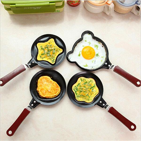 Egg Frying Non-Stick Kitchen Pan Mini Pot DIY 6 Types